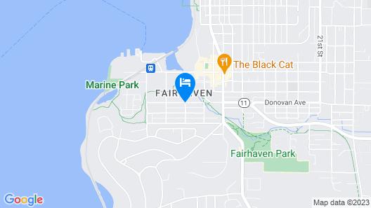 Fairhaven Harbor Luxury Retreat - Two Bedroom Townhome Map