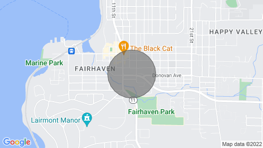 Fairhaven Luxury With Rooftop Deck and Ocean Views Map