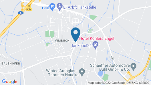 Kohler´s Hotel und Speiselokal Engel Map