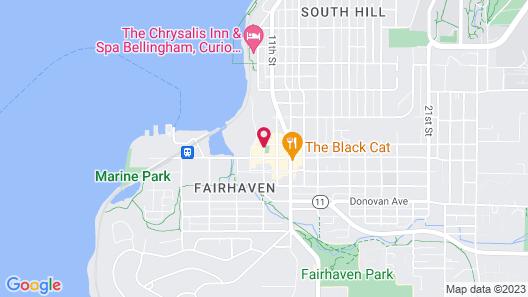 Fairhaven Village Inn Map