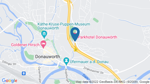 Parkhotel Donauwörth Map