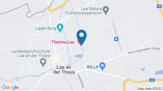 Therme Laa - Hotel & Silent Spa Map