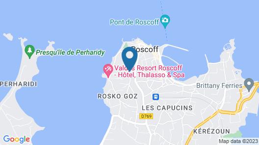The Originals City, Hôtel Armen Le Triton, Roscoff (Inter-Hotel) Map