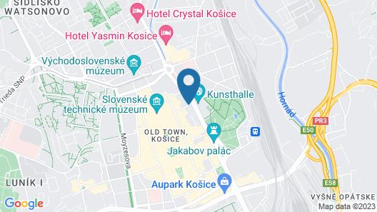 GOLDEN ROYAL Boutique hotel & Spa Map