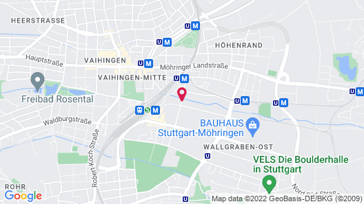 ibis Styles Stuttgart Vaihingen Map