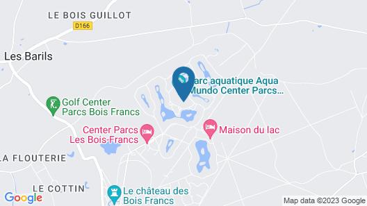 Center Parcs Les Bois-Francs Map