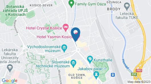 Hotel Yasmin Map