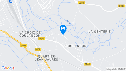 Manoir de Coulandon Map