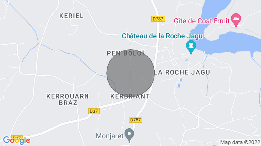 1 Bedroom Accommodation in Ploezal Map