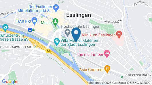 Hotel am Schillerpark Map