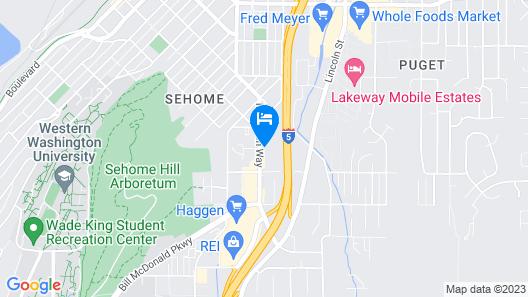Coachman Inn Map
