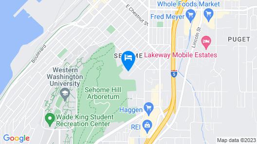 Sehome Garden Inn Map