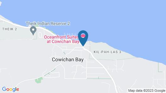 Oceanfront Suites at Cowichan Bay Map
