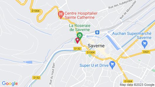 Le Jardin des Roses Map