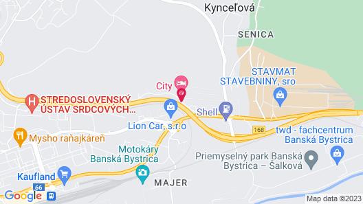 Hotel SAD Map