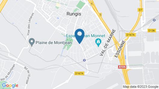 Hôtel Restaurant Maison Blanche Map