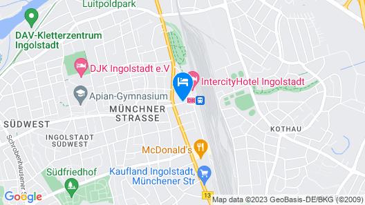 IntercityHotel Ingolstadt Map