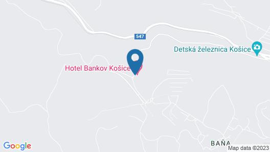 Hotel Bankov Map