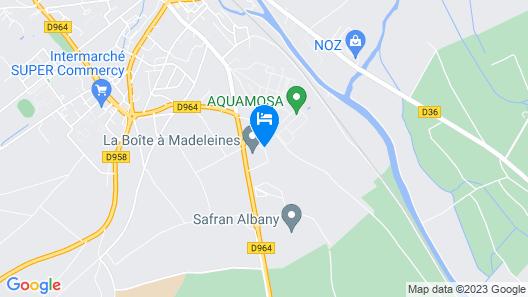 Hôtel de la Madeleine Map