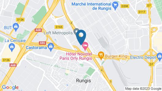 hotelF1 Rungis Orly (rénové) Map