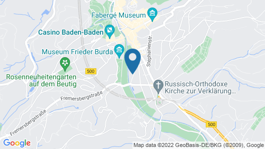 Brenners Park-Hotel & Spa - an Oetker Collection Hotel Map