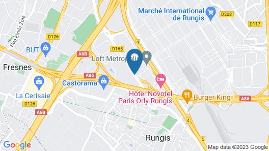 Mercure Paris Orly Rungis Map
