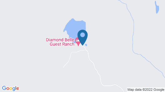 Diamond Belle Guest Ranch Map