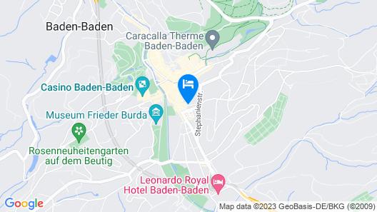 Hotel Merkur Map
