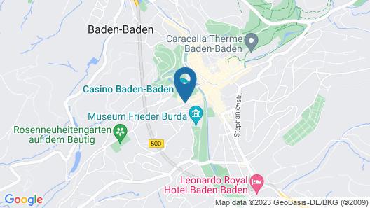 Maison Messmer - ein Mitglied der Hommage Luxury Hotels Collection Map
