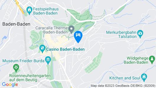 Hotel Magnetberg Baden-Baden Map