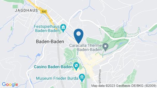 Radisson Blu Badischer Hof Hotel Map