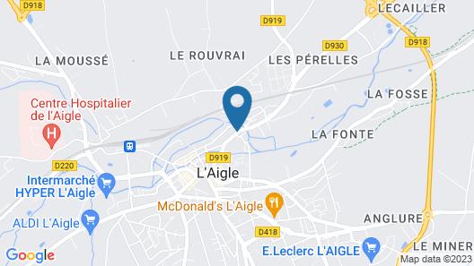Hotel du Cygne Map