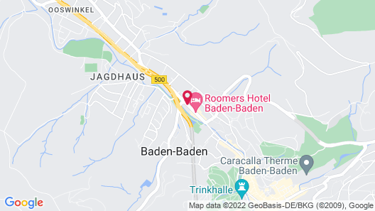 Holiday Inn Express Baden-Baden Map