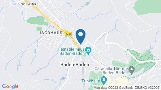 Holiday Inn Express Baden-Baden Map