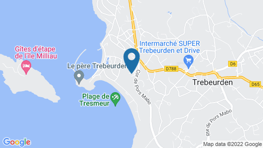 TI AL LANNEC Hotel - Restaurant & Spa Map