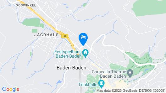 Vienna Townhouse Batschari Baden-Baden Map
