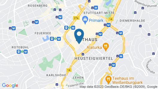 Hotel Merit Map