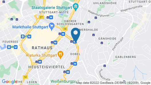 Hotel Espenlaub Map