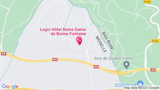 Hotel Notre-Dame de Bonne Fontaine Map