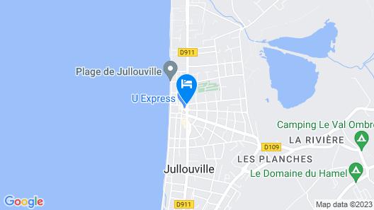 Hôtel des Pins Map