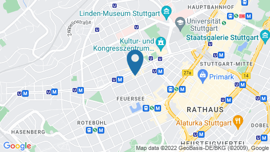 Hotel Hansa Map