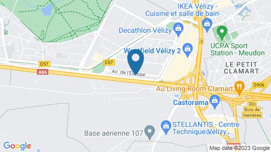 Holiday Inn Express Paris - Velizy, an IHG Hotel Map