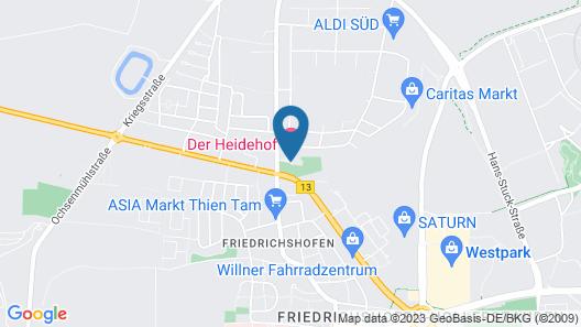 Parkhotel Heidehof Map