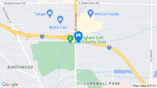 MorningGlory Inn & Suites Map