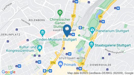 Hotel Unger Map