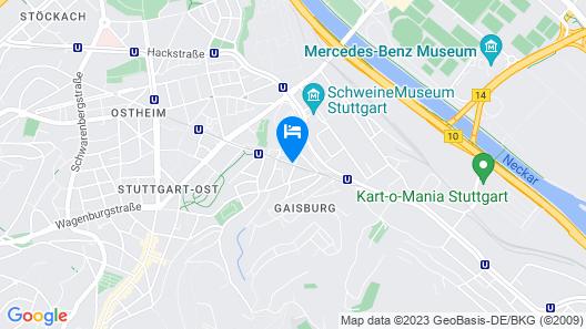 Relax-Wellnesshotel-Stuttgart Map