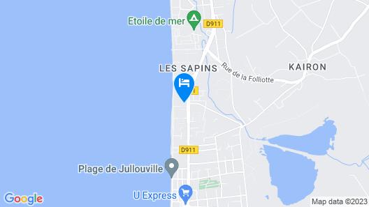 Les Oyats 17 Map