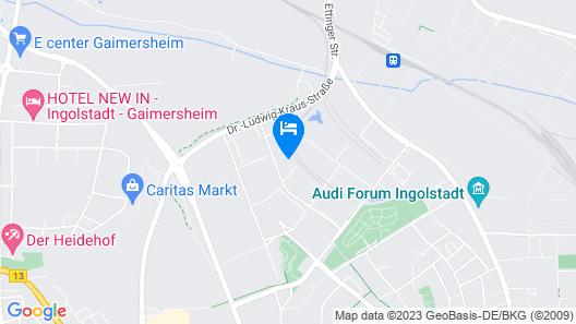 Hotel im GVZ Ingolstadt Map