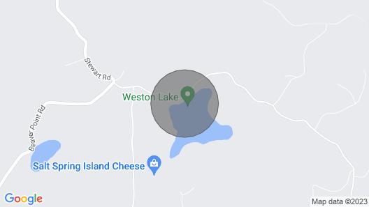 Tiny Writers Retreat Map