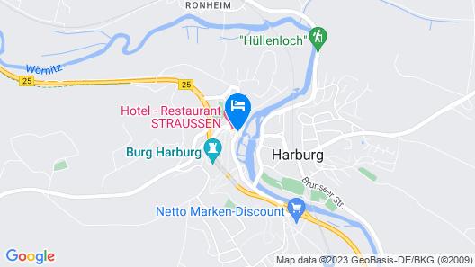 Hotel Gasthof zum Goldenen Lamm Map